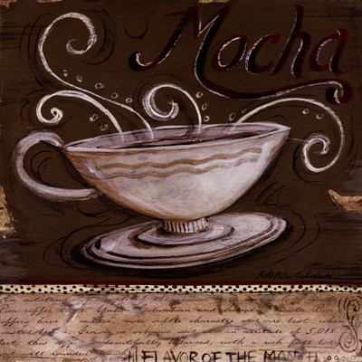 Mocha Poster by Kate McRostie for $15.00 CAD