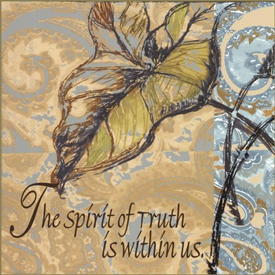 Spirit Of Truth Poster by Shari White for $15.00 CAD