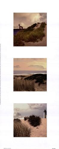 Beach Trio I Poster by Judy Mandolf for $15.00 CAD