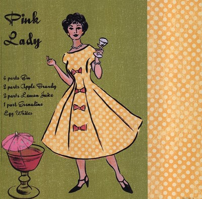 Pink Lady Poster by Lisa Ven Vertloh for $15.00 CAD