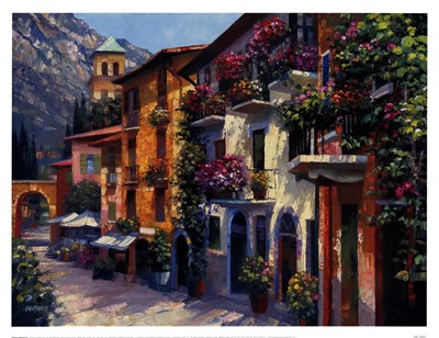 Village Hideaway Poster by Howard Behrens for $28.75 CAD