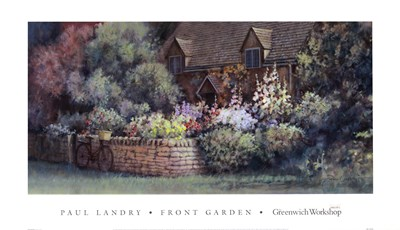 Front Garden Poster by Paul Landry for $41.25 CAD