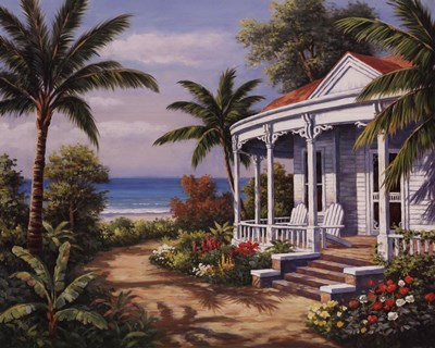 Summer House II Poster by Sung Kim for $30.00 CAD