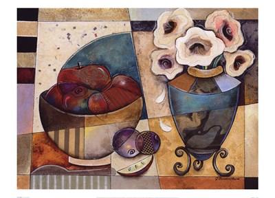 Floral Delight Poster by Jennifer Bonaventura for $41.25 CAD