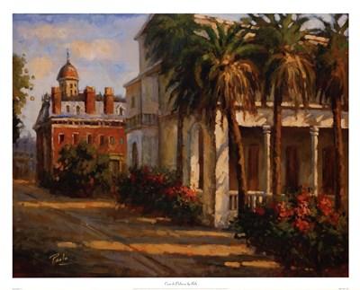 Casa De Palmera Poster by Enrique Bolo for $55.00 CAD