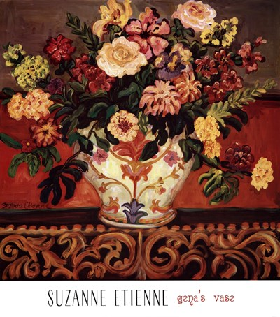 Gena's Vase Poster by Suzanne Etienne for $62.50 CAD