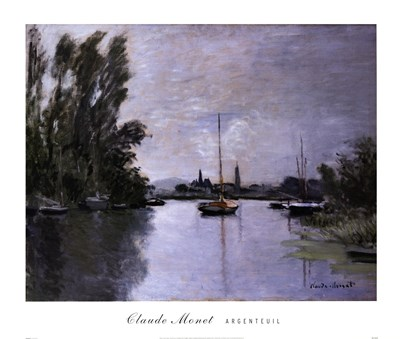 Argenteuil Poster by Claude Monet for $47.50 CAD