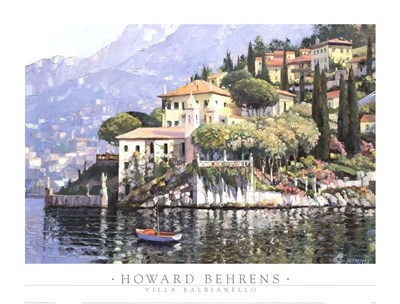 Villa Balbianello Poster by Howard Behrens for $47.50 CAD