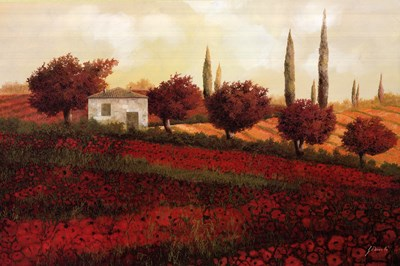 Apapaveri Toscana II Poster by Guido Borelli for $60.00 CAD