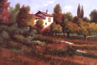 La Casa Nel Bosco Poster by Guido Borelli for $37.50 CAD