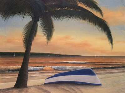 Golden Sunset Poster by Diane Romanello for $70.00 CAD