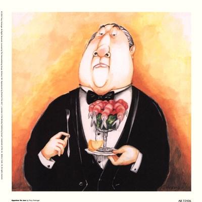Appetizer Du Jour Poster by Tracy Flickinger for $15.00 CAD