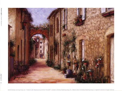 Tuscan Light Poster by Stephen Bergstrom for $10.00 CAD
