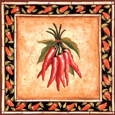 Chiles II Poster by Geoff Allen for $11.25 CAD