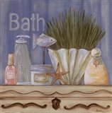 Country Blue Bath