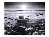 Sun Surf and Rocks