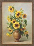 Sunflowers In Bronze II