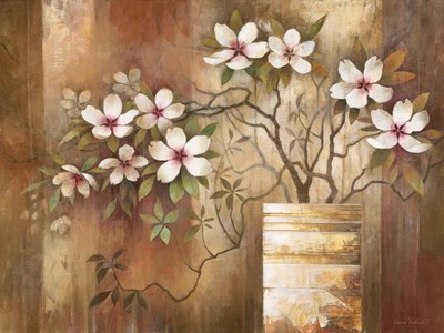 Southern Dogwoods Poster by Elaine Vollherbst-Lane for $20.00 CAD