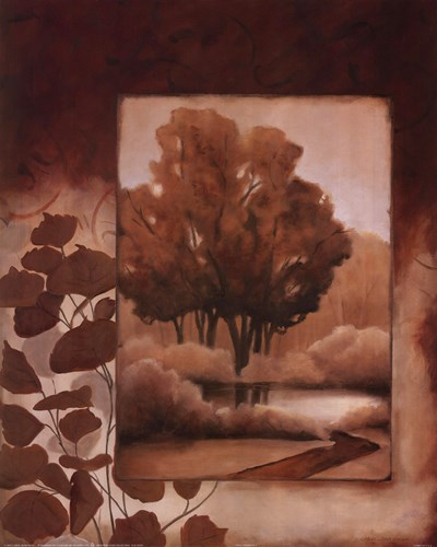 Fall Vignette I Poster by Carol Robinson for $17.50 CAD