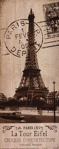 La Tour Eiffel Poster by Kelly Donovan for $13.75 CAD