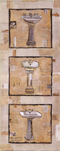 Vintage Sinks II Poster by Kate and Liz Pope for $13.75 CAD
