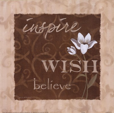Inspire Poster by Carol Robinson for $13.75 CAD