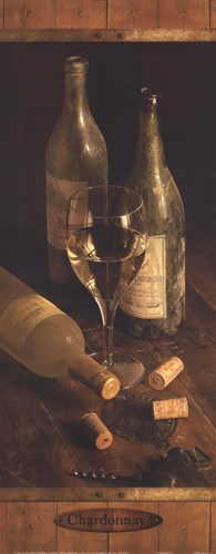 Chardonnay Poster by Alain Dancause for $13.75 CAD