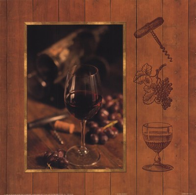 A Fine Wine I Poster by Alain Dancause for $13.75 CAD