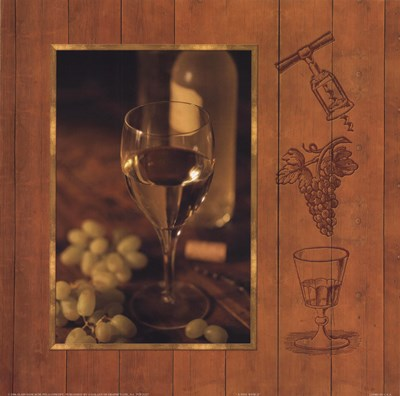 A Fine Wine II Poster by Alain Dancause for $13.75 CAD