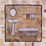 Vintage Bath Time I