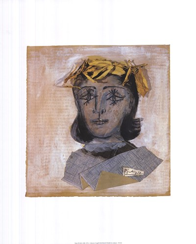 Head of Dora Maar Poster by Pablo Picasso for $16.25 CAD
