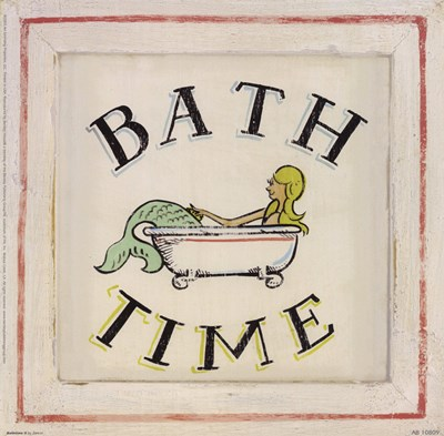 Bathtime II Poster by Zaricor for $17.50 CAD