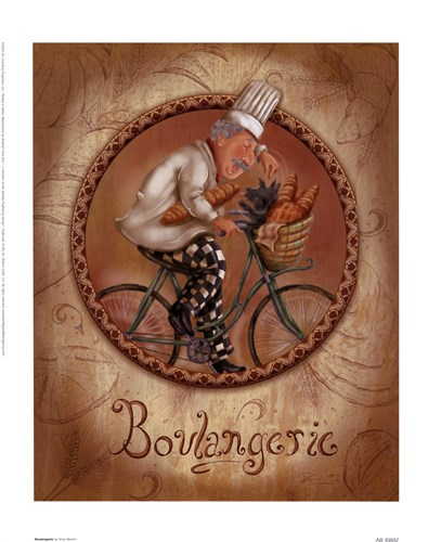 Boulangerie Poster by Shari Warren for $13.75 CAD