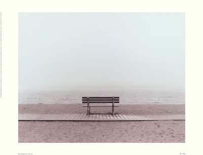 Bench: Westport, CT Poster by Maya Nagel for $35.00 CAD