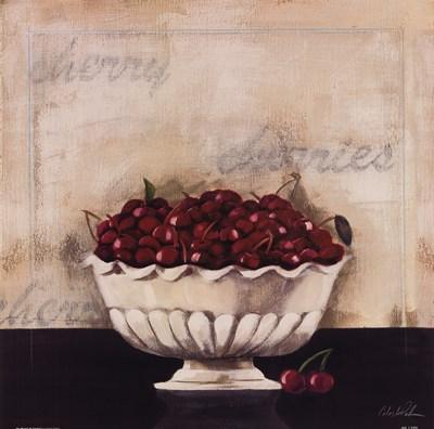 Un Desert De Cerises Poster by Celeste Peters for $22.50 CAD