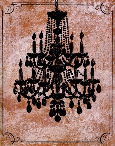Chandelier II Poster by Lisa Ven Vertloh for $21.25 CAD