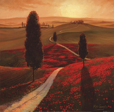 Tuscany Poster by Thomas McGrath for $21.25 CAD