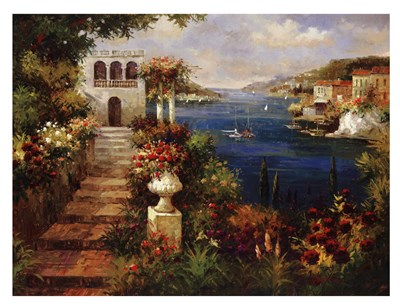 Marina Di Leuca II Poster by Peter Bell for $22.50 CAD
