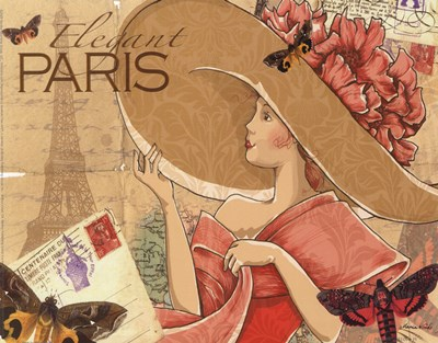 Paris Poster by Maria Woods for $13.75 CAD
