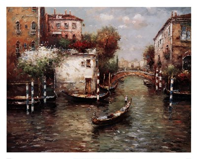 Afternoon In Venice Poster by Unknown for $58.75 CAD