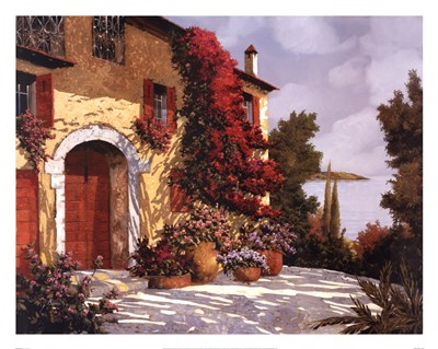 Bougainvillea Poster by Guido Borelli for $58.75 CAD