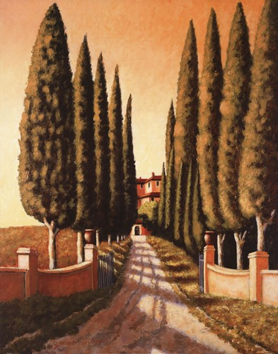 Tuscan Retreat Poster by Santo Devita for $60.00 CAD