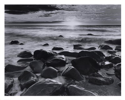 Winter Sunrise Montauk Coast #2 Poster by Richard Nowicki for $58.75 CAD