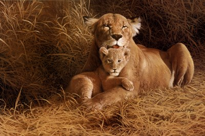 A Mother's Pride Poster by W. Michael Frye for $67.50 CAD