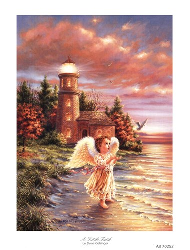 A Little Faith Poster by Dona Gelsinger for $10.00 CAD