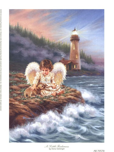 A Little Tenderness Poster by Dona Gelsinger for $10.00 CAD