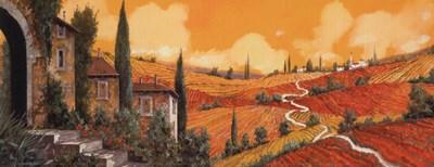 Terra Di Siena Poster by Guido Borelli for $26.25 CAD