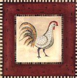 Mosaic Rooster No.2