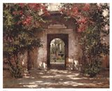 Flowered Doorway