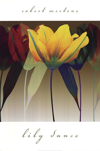 Lily Dance Poster by Robert Mertens for $46.25 CAD